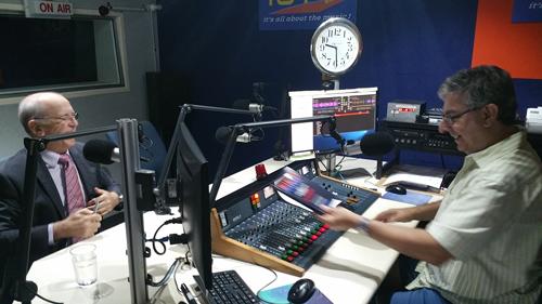 Radio 101 fm Logan Mike Bennet Ian Coombe WIKID POWER