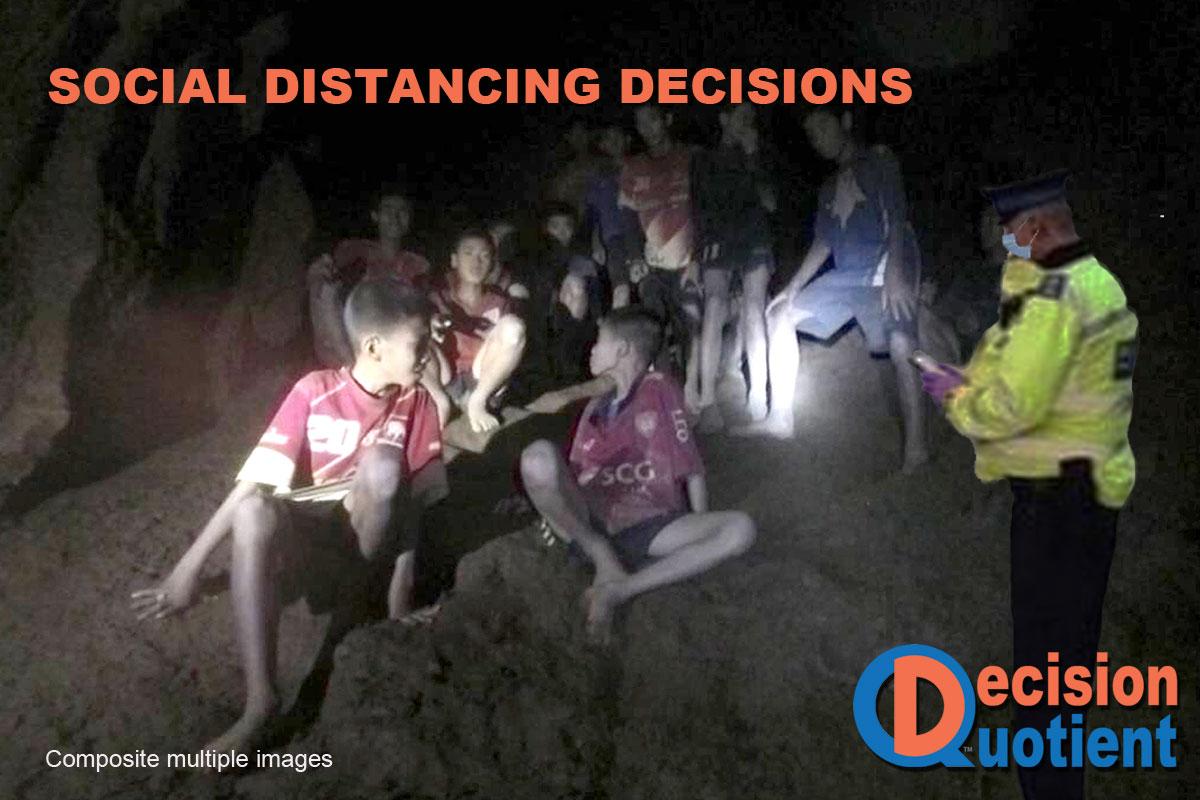Social Distancing Meme - Thai Soccer Team Rescue