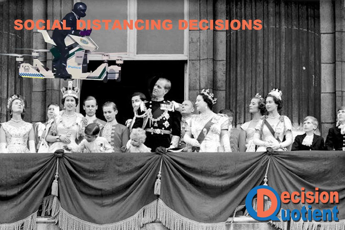 Social Distancing Meme - Royal Coronation Balcony