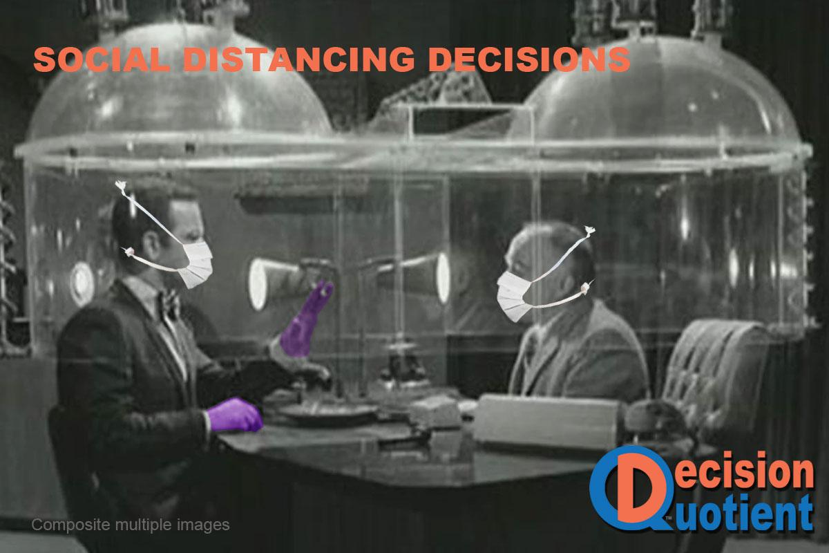 Social Distancing Meme - Cone of Silence