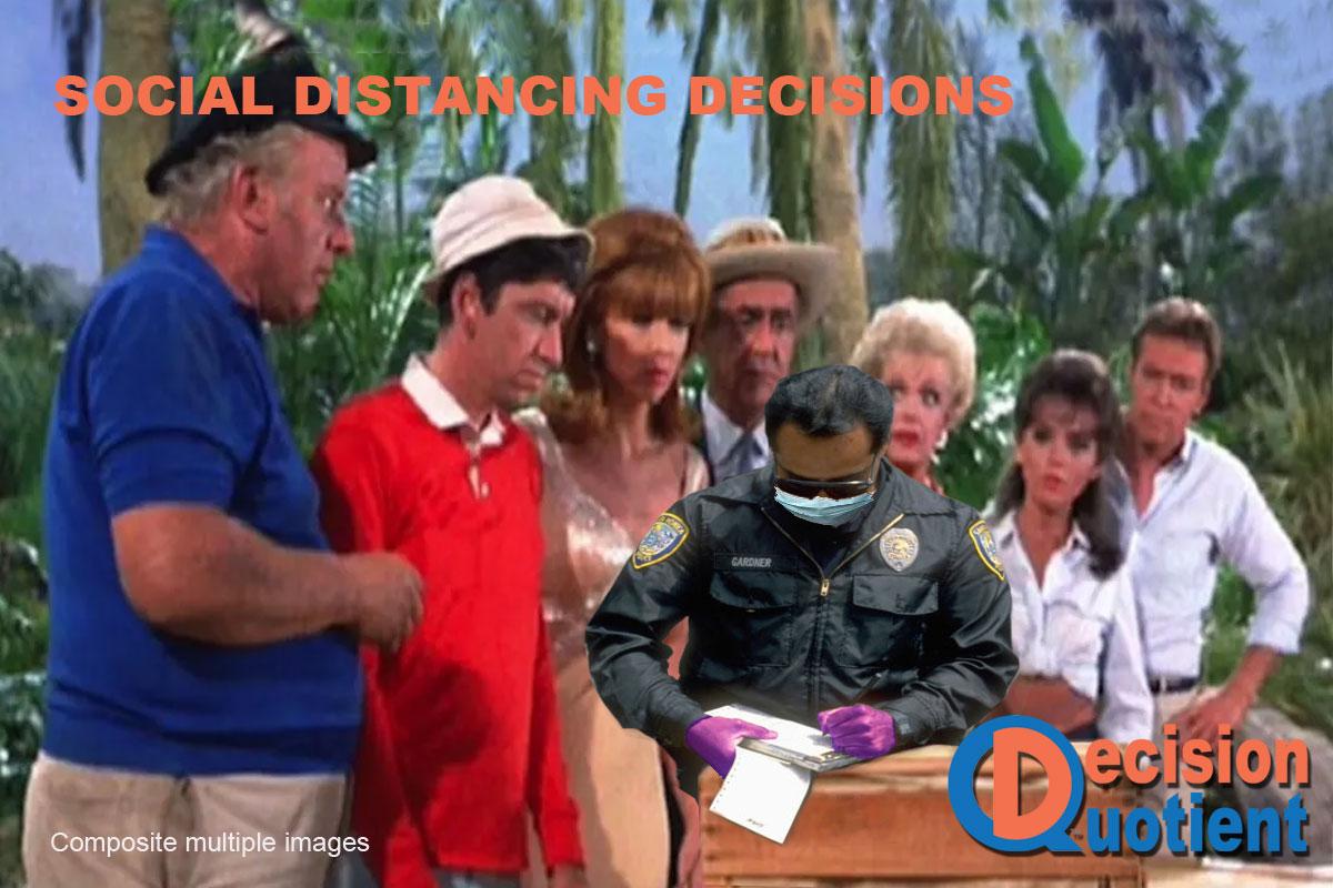 Social Distancing Meme - Gilligan's Island