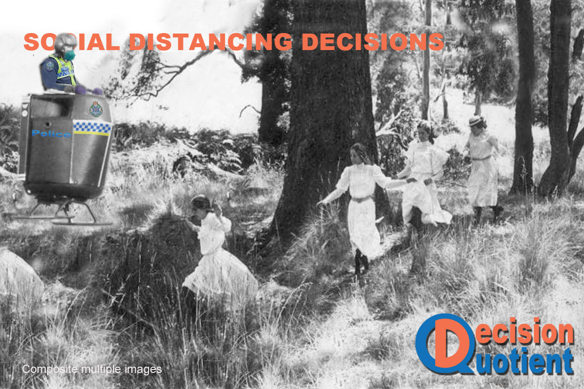 Social Distancing Meme - Picnic at Hanging Rock