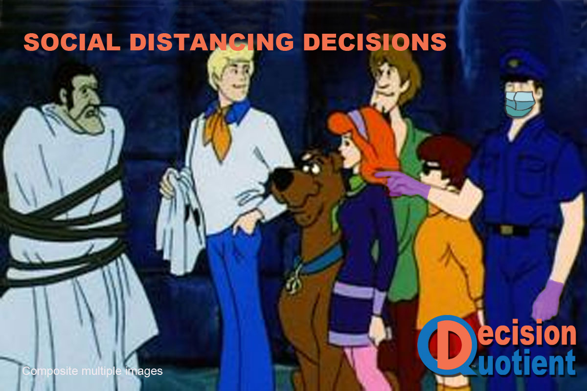 Social Distancing Meme - Scooby Doo
