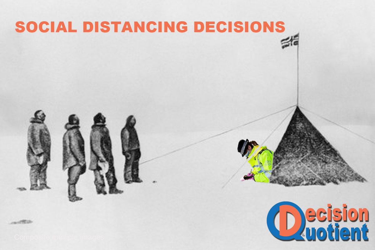 Social Distancing Meme - Antarctica Expedition