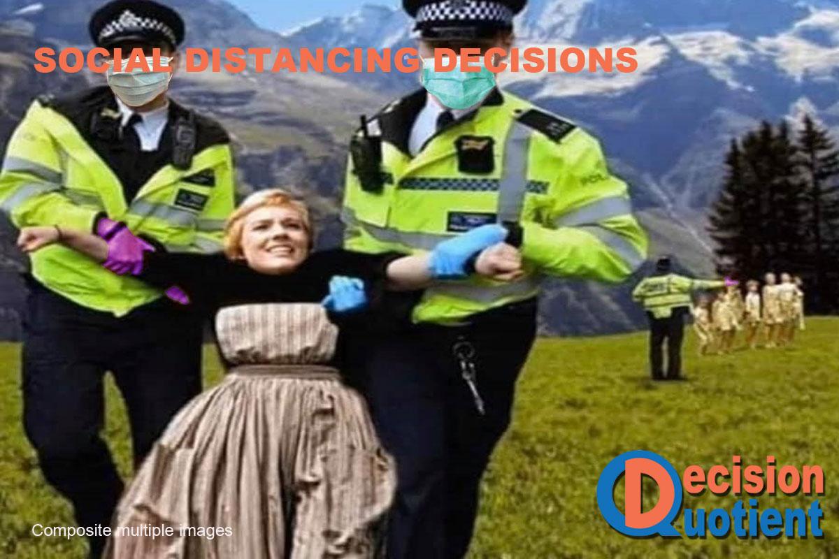 Social Distancing Meme - Sound of Music