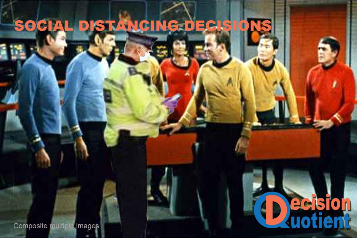 Social Distancing Meme - Star Trek