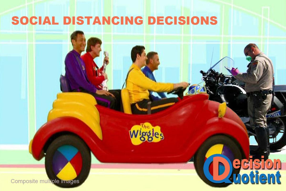 Social Distancing Meme - Wiggles